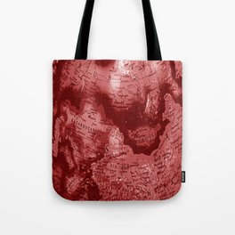 Russia in Red Tote Bag