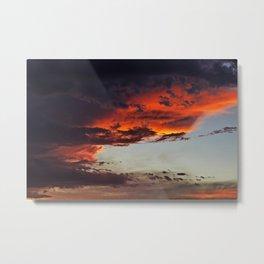 Sierra Blanca Sunset IV Metal Print