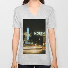 North Park (San Diego) Sign - SD Signs Series #1 Unisex V-Neck