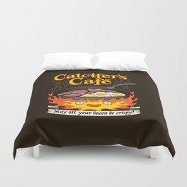 Calcifer's Cafe Duvet Cover