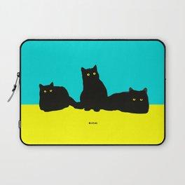 Three Cats Laptop Sleeve