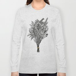 Dry Bouquet with Gold String Long Sleeve T-shirt