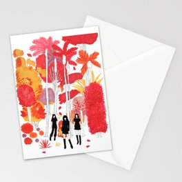 fall leaves version 1 Stationery Cards