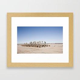 Victorville Framed Art Print