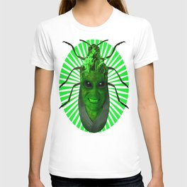GREEN PLANET ALIEN (Us And Them) T-shirt