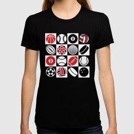 Sport Ball Checkerboard T-shirt