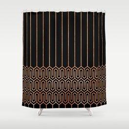 Art Deco No. 1 Quinn Shower Curtain