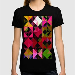 Crape Myrtle Abstract Triangles 1 T-shirt