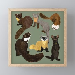Martens of the World #1 Framed Mini Art Print