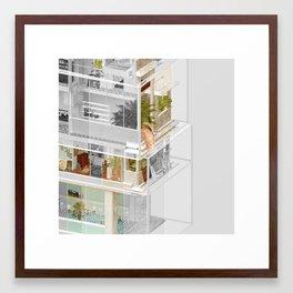 Mumbai/Toronto 2/2 Framed Art Print