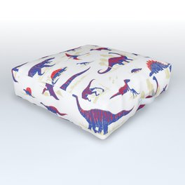Dinosaurs Outdoor Floor Cushion