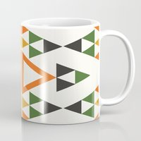 prism Mugs featuring Prism by clare nicolson