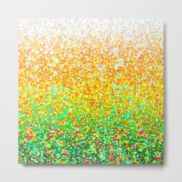 Color Dots Background G73 Metal Print