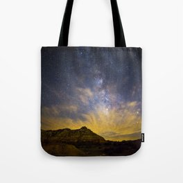 Fiery Night in Palo Duro Canyon Tote Bag
