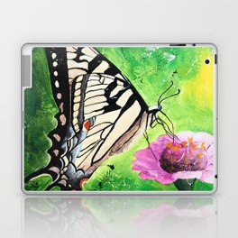 Butterfly - Morning light - by LiliFlore Laptop & iPad Skin