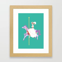 Practically Perfect In Every Way Framed Art Print