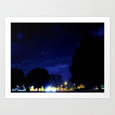 night space. Art Print