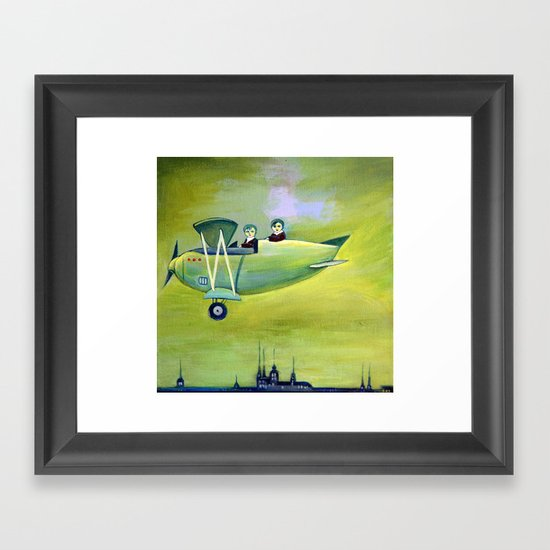 The Flight Framed Art Print