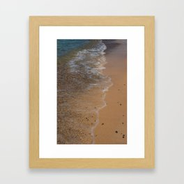 Lake Michigan Beach, Charlevoix - I Framed Art Print