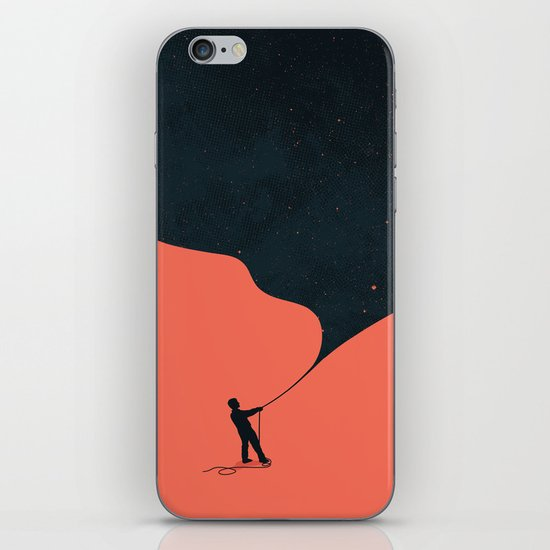 Night fills up the sky iPhone & iPod Skin