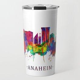Anaheim California Skyline Travel Mug