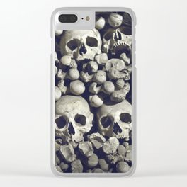 Bored to death Clear iPhone Case