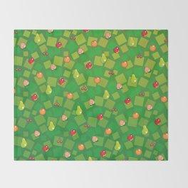 Fruit Basket Throw Blanket