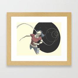 Vortex Framed Art Print