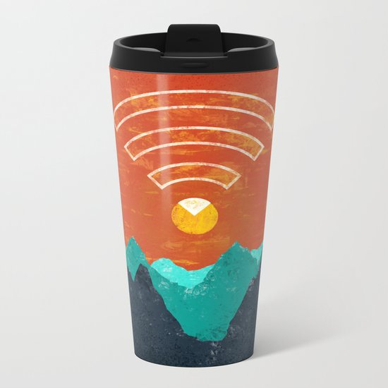 OUT OF OFFICE Metal Travel Mug