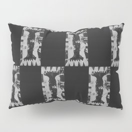 Greyscale Middle School Pillow Sham