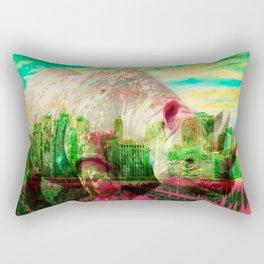 Oswald I by Naoma Serna Rectangular Pillow