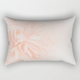 Light Peach Rose #3 #floral #art #society6 Rectangular Pillow