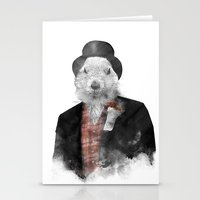 phil jones Stationery Cards featuring Mr. Phil by Robert Farkas