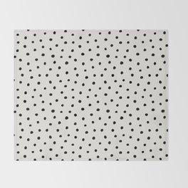 Perfect Polka Dots Throw Blanket