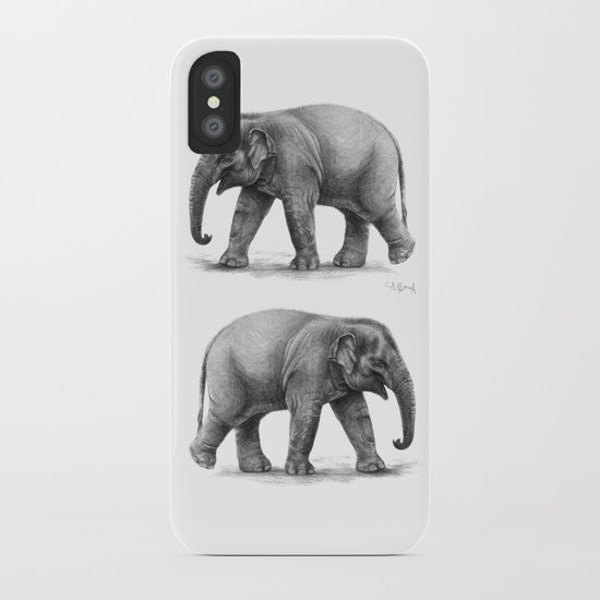 Elephant Baby G092 iPhone Case