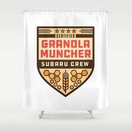 Granola Muncher Shower Curtain