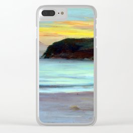 Kunishirō Mitsutani  Mt.Fuji in a Windy Day Clear iPhone Case