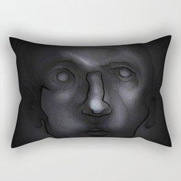 Man looking in Rectangular Pillow