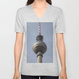TV Tower Berlin II Unisex V-Neck