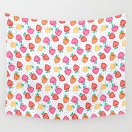 Strawberry fields Wall Tapestry