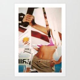 Marketing Illusion Art Print