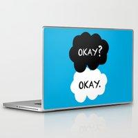 okay Laptop & iPad Skins featuring Okay by Hoeroine