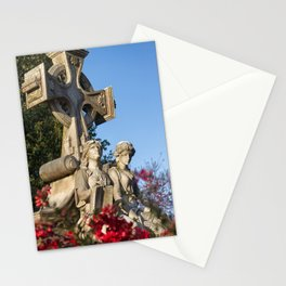 Neal Monument at Oakland Cemetery Stationery Cards