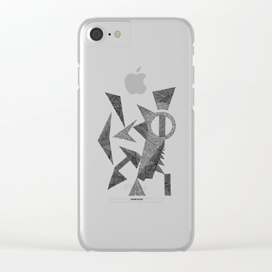 - silence - Clear iPhone Case