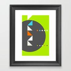 Spot Slice 03 Framed Art Print