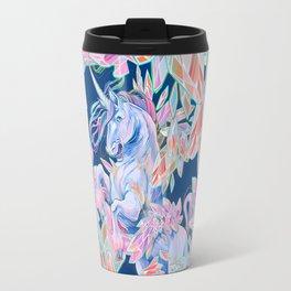 Crystal Snake Rainbow Unicorn Travel Mug