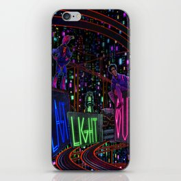 Last Light Out: Concept Cover iPhone Skin