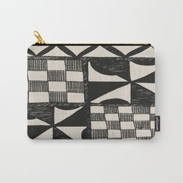 Tapa | Barkcloth | Pacifica | Pasifica | Abstract Patterns | Pacific Islands | Tribal | Ethnic | Carry-All Pouch