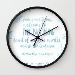 Welcome to Tir Na Nog Wall Clock