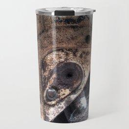 Machine Rust Hydraulic Ram Travel Mug